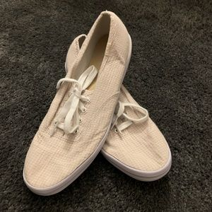 Keds Like New Cream Sneakers Size 8